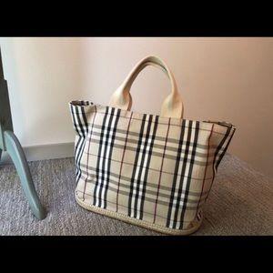Burberry Bags - Authentic Burberry Nova Check Tote Shoulder Bag